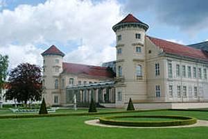 Ansicht Schloß in Rheinsberg