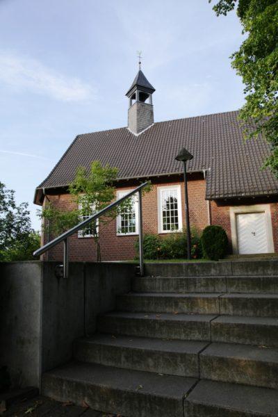 Ansicht der evangelischen Kirche in Herbern von außen