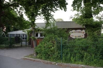Ansicht Kindergarten St. Benedikt, Herbern von außen