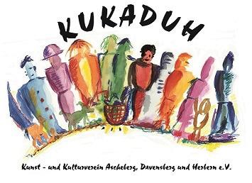Das Logo von Kukaduh ist eine farbige Zeichnung aus vielen Menschen.