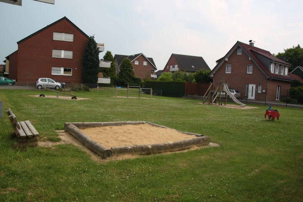 Ansicht Spielplatz Dorfheide