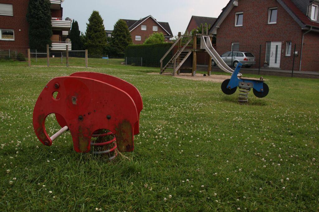 Ansicht Wipptier Spielplatz Dorfheide