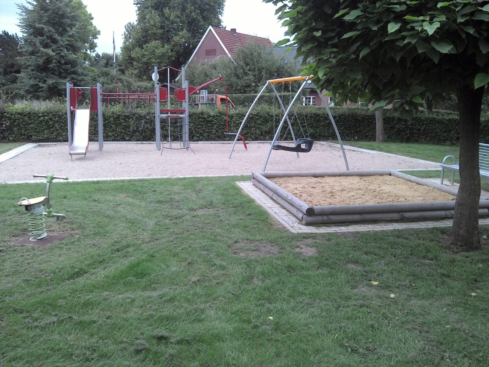Ansicht Spielplatz Felsmannstrasse