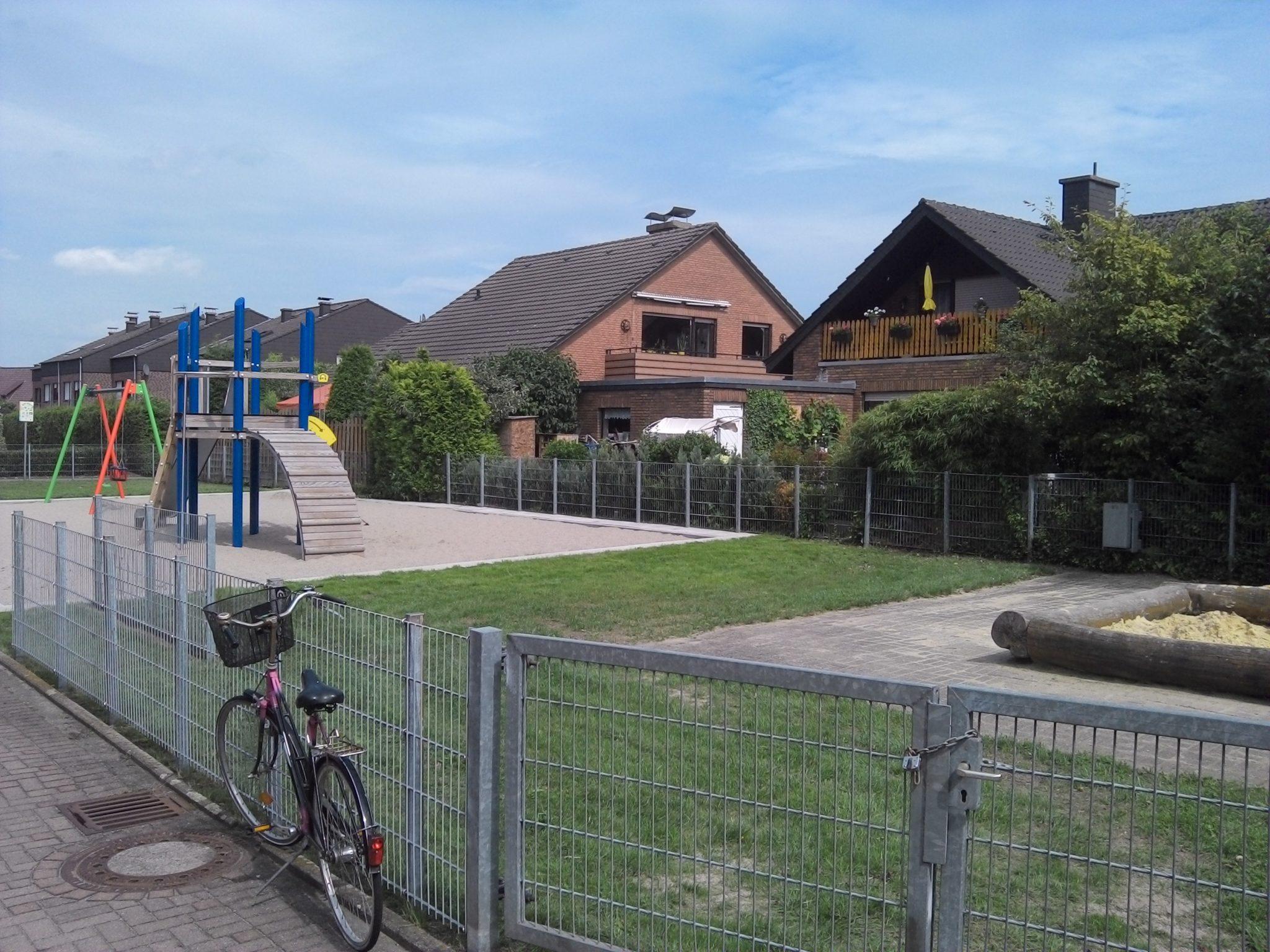 Ansicht Spielplatz Gartenstraße