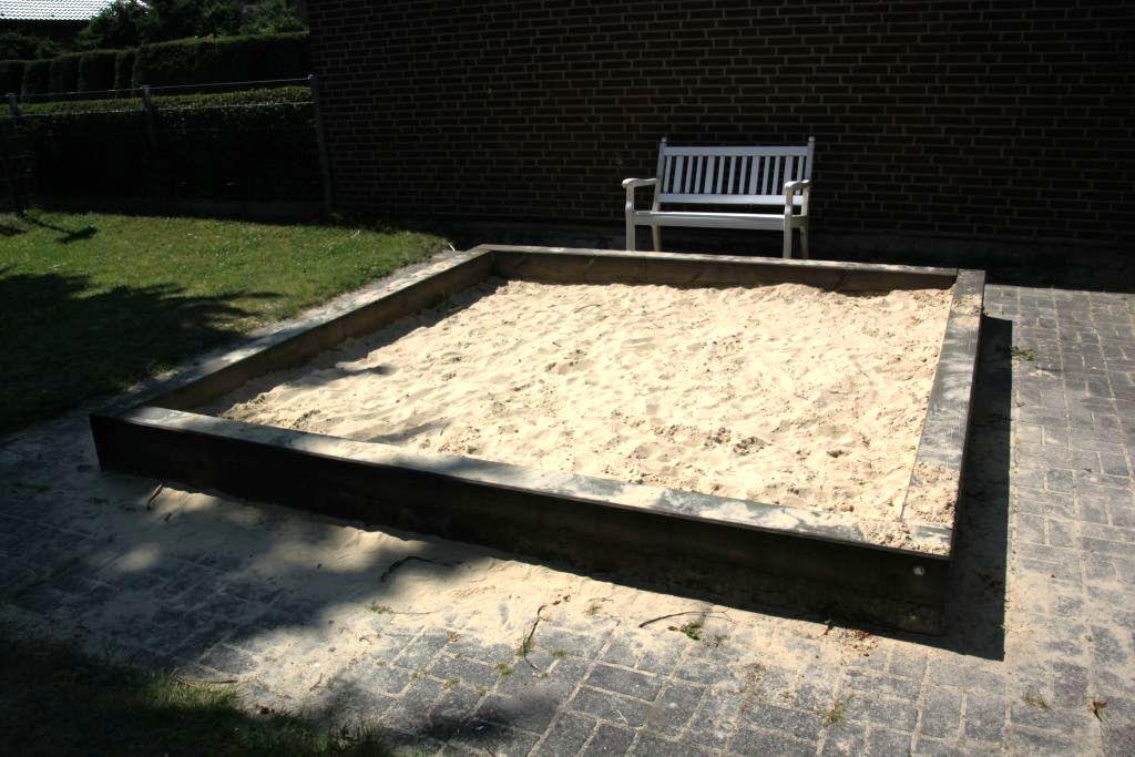 Ansicht Sandkasten Spielplatz Gottfriedweg