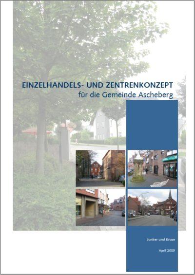 Titelbild Einzelhandels- und Zentrenkonzept für die Gemeinde Ascheberg