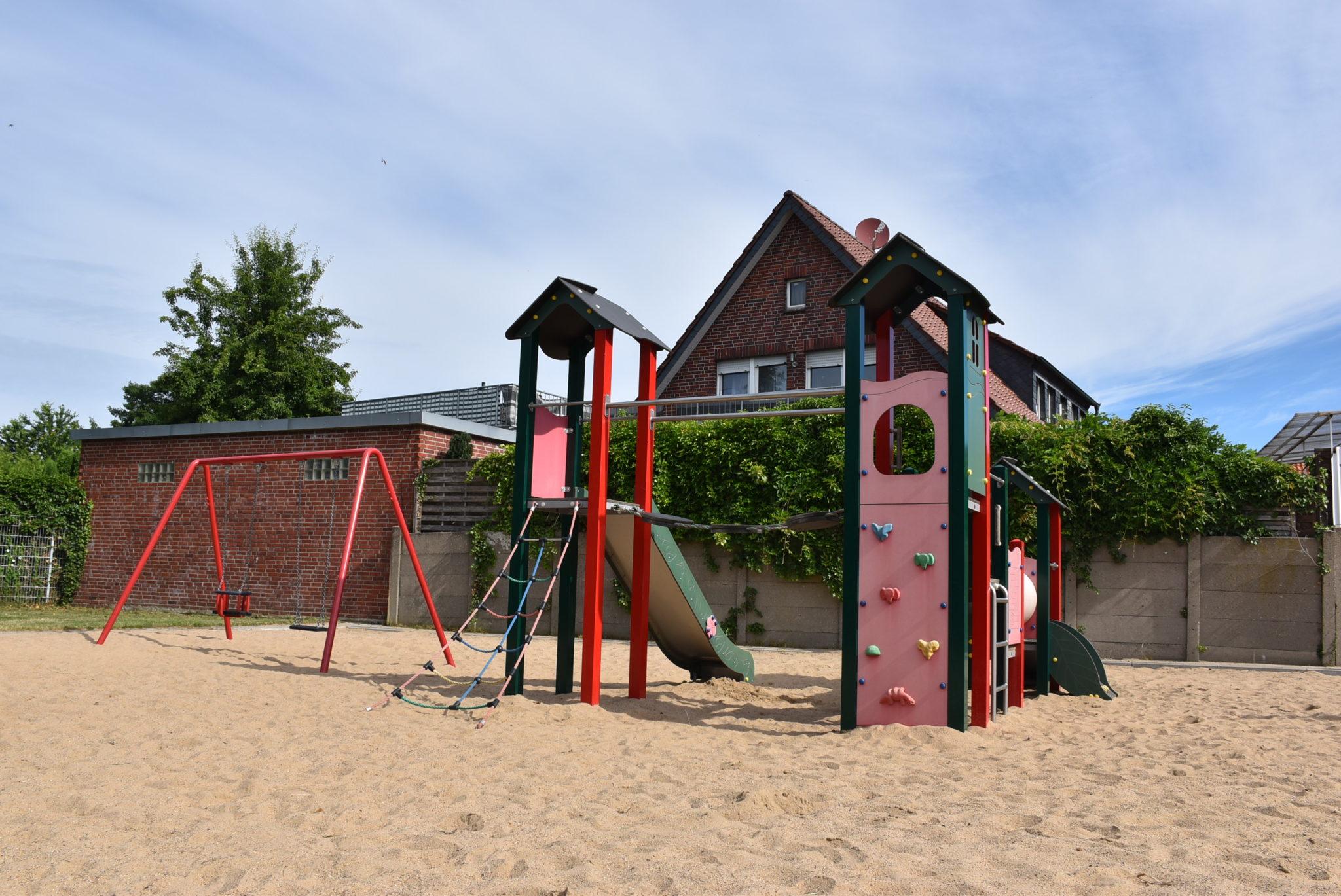 Ansicht Spielplatz Von-Büren-Straße