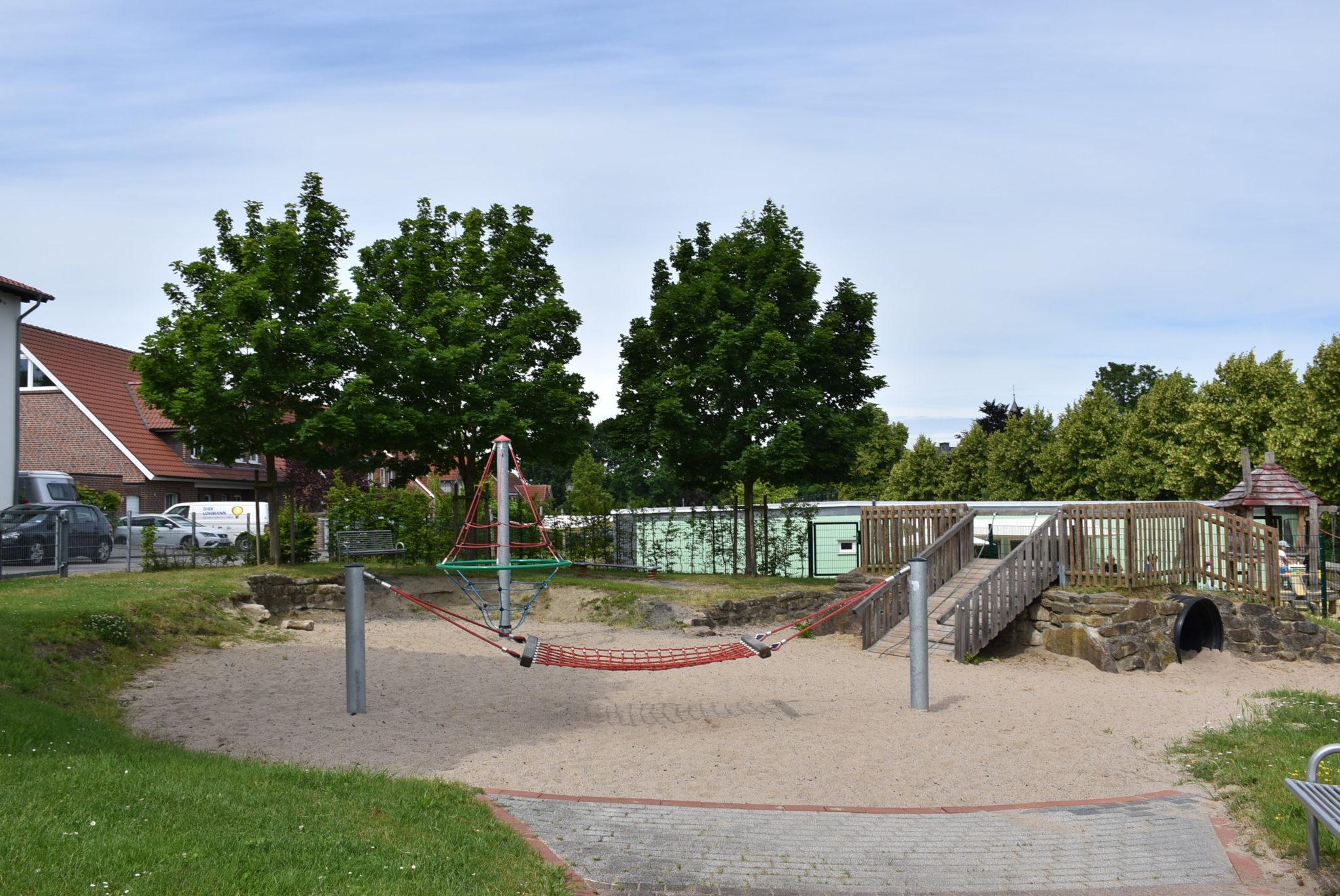Übersicht Spielplatz Hombrede II