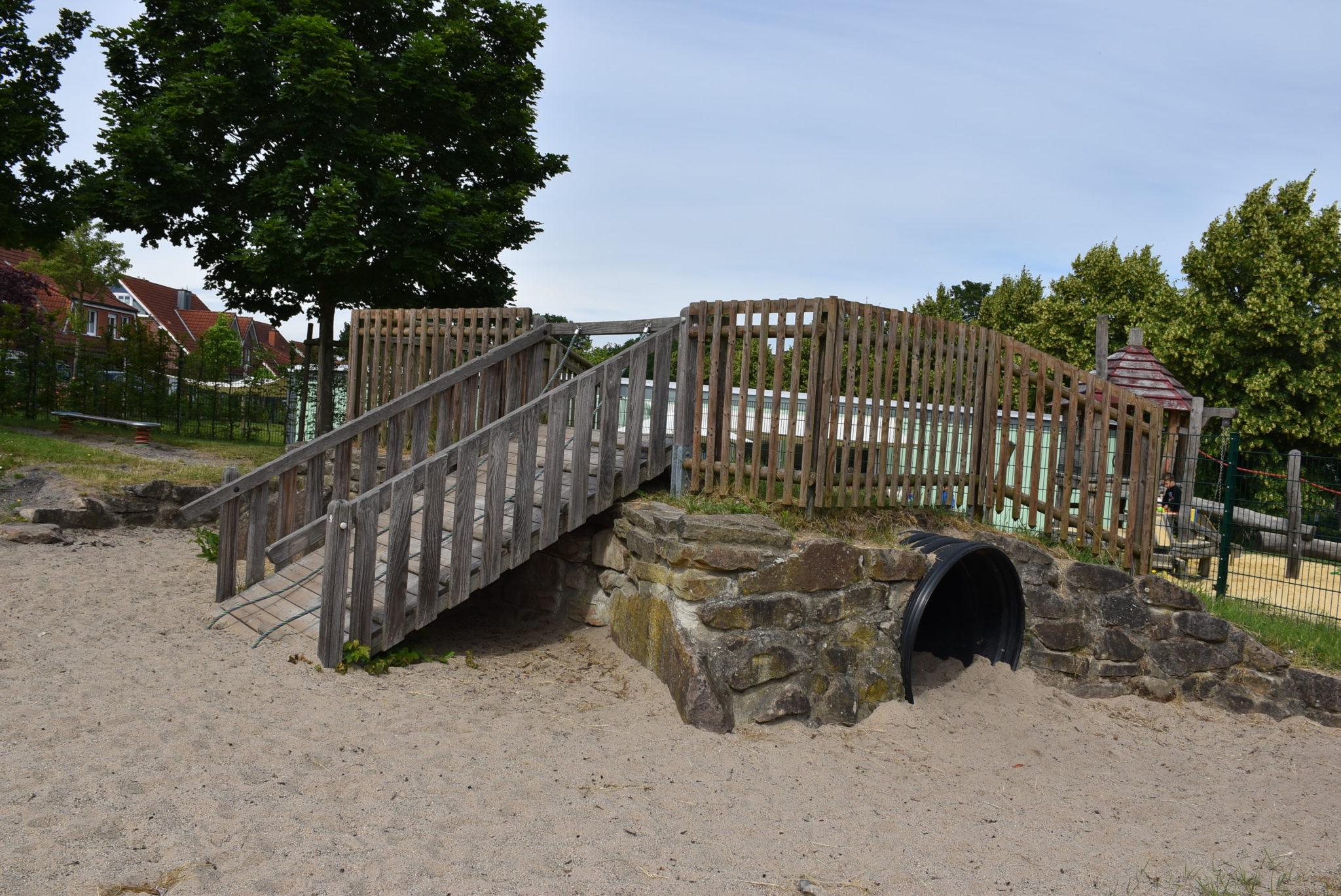 Übersicht Tunnel Spielplatz Hombrede II