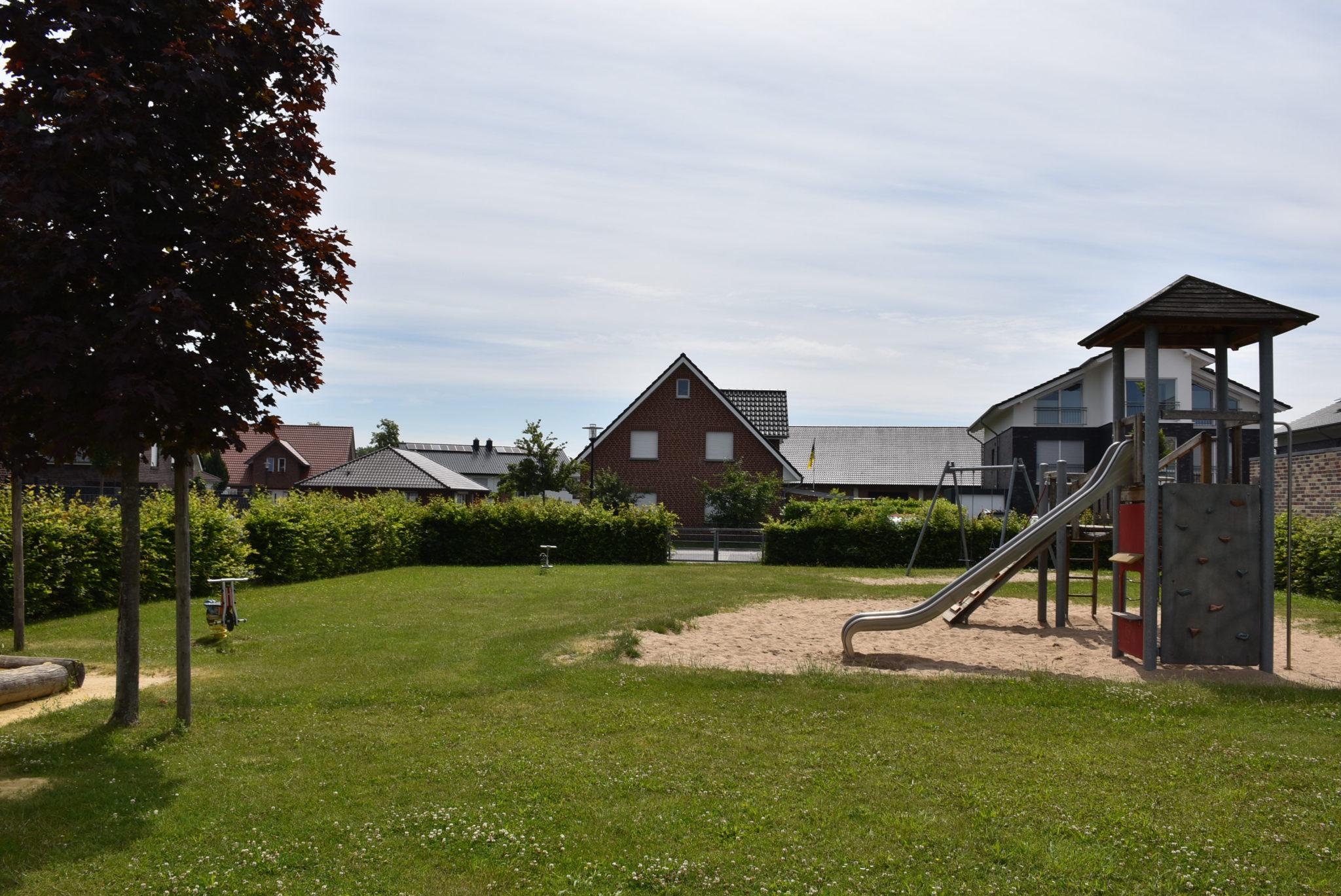 Übersicht Spielplatz Mühlenberg