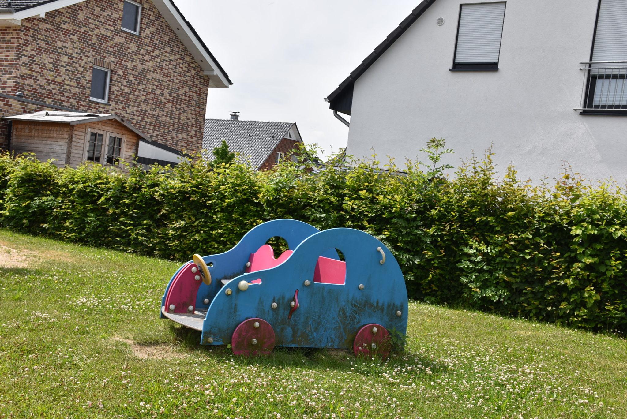 Übersicht Spielauto Spielplatz Mühlenberg