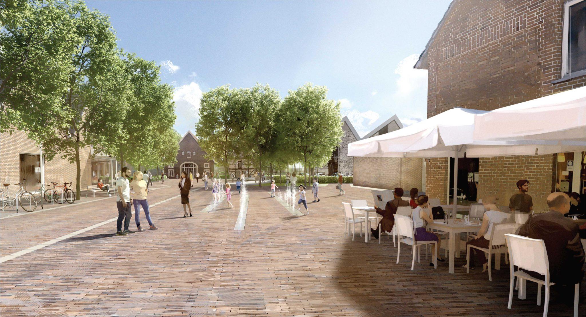 Visualisierung Entwurf Eschenplatz