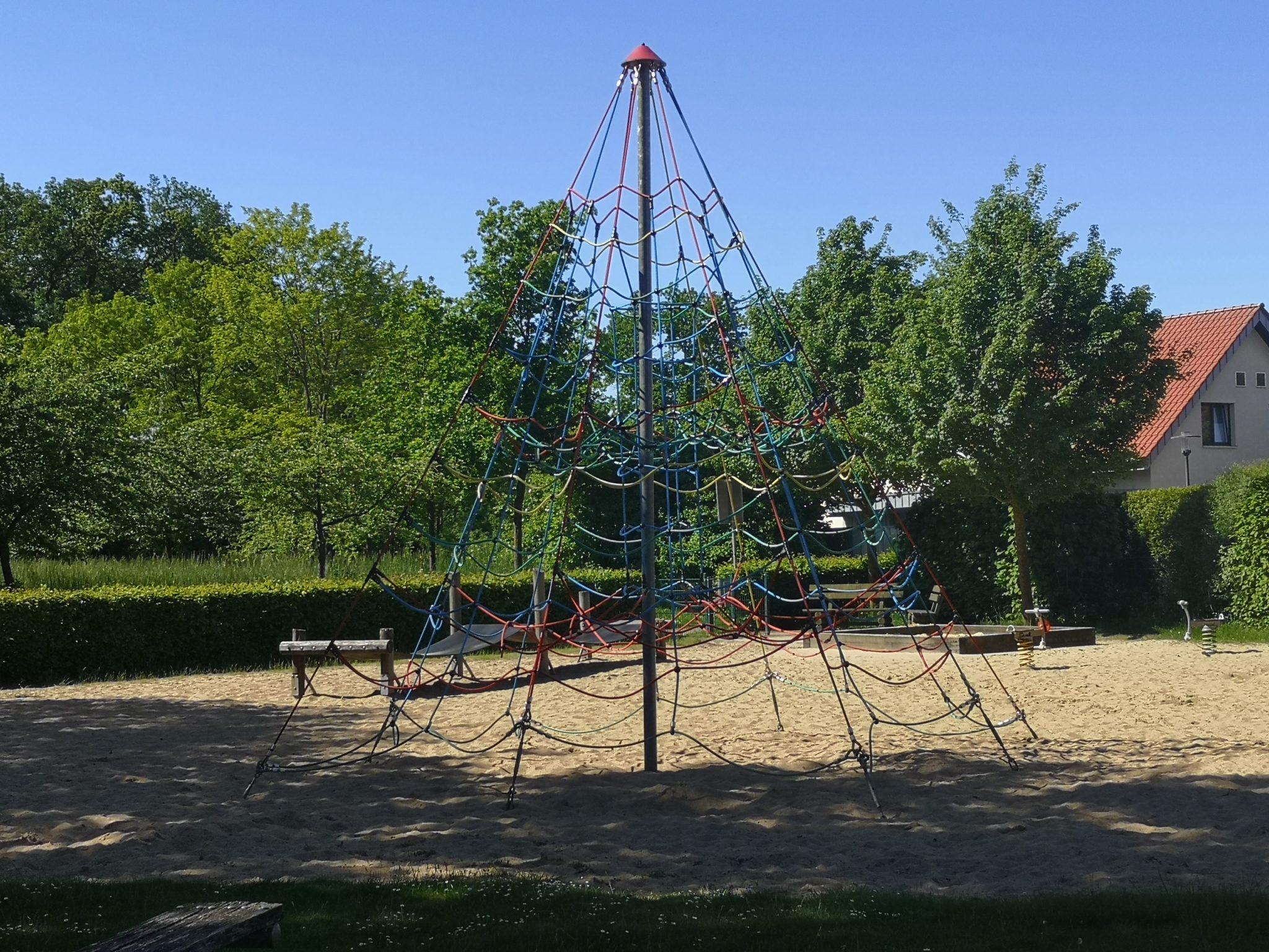 Ansicht Spielplatz Portenkamp