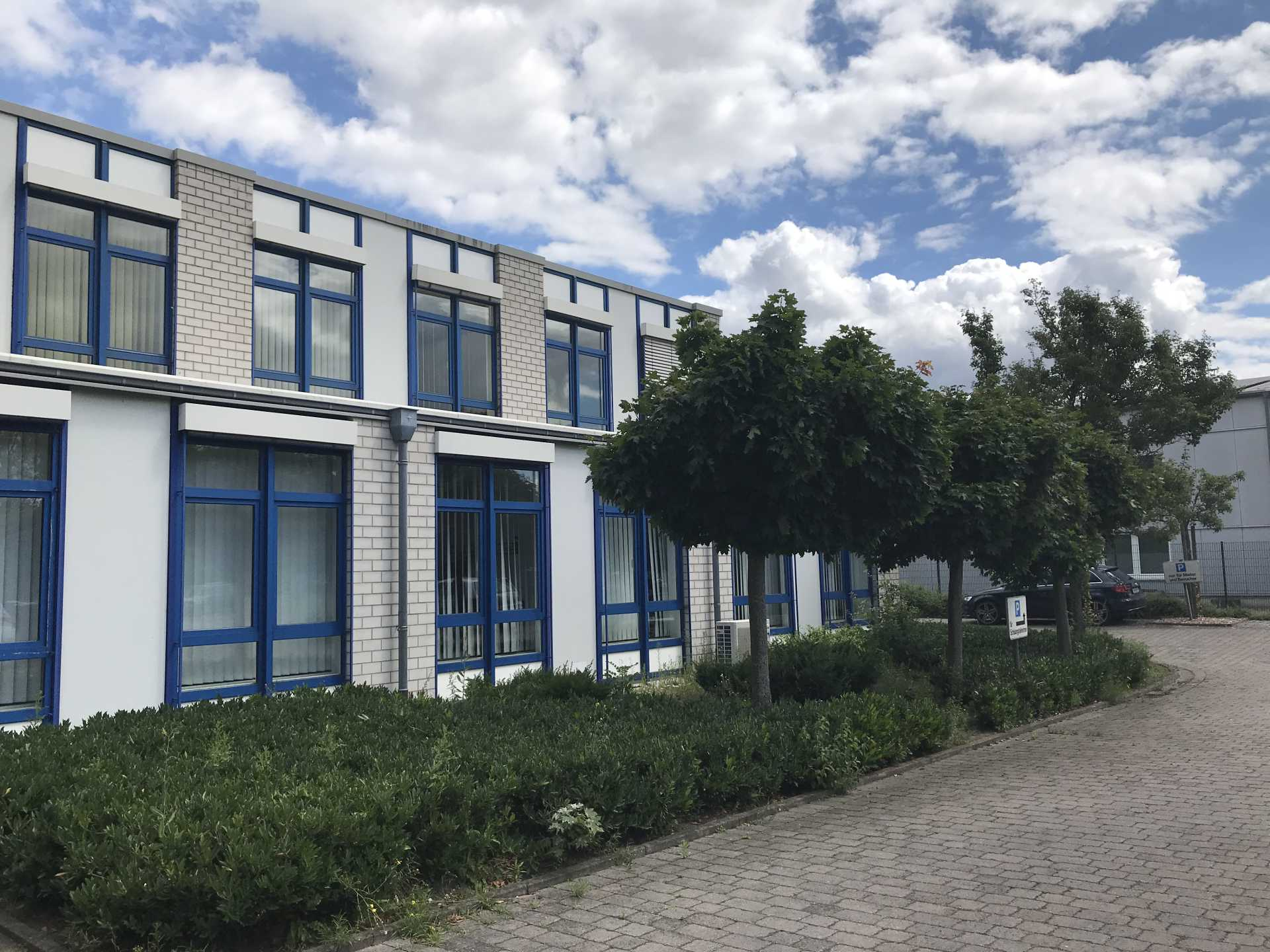 INCA Technologiezentrum Ascheberg Fensterfront