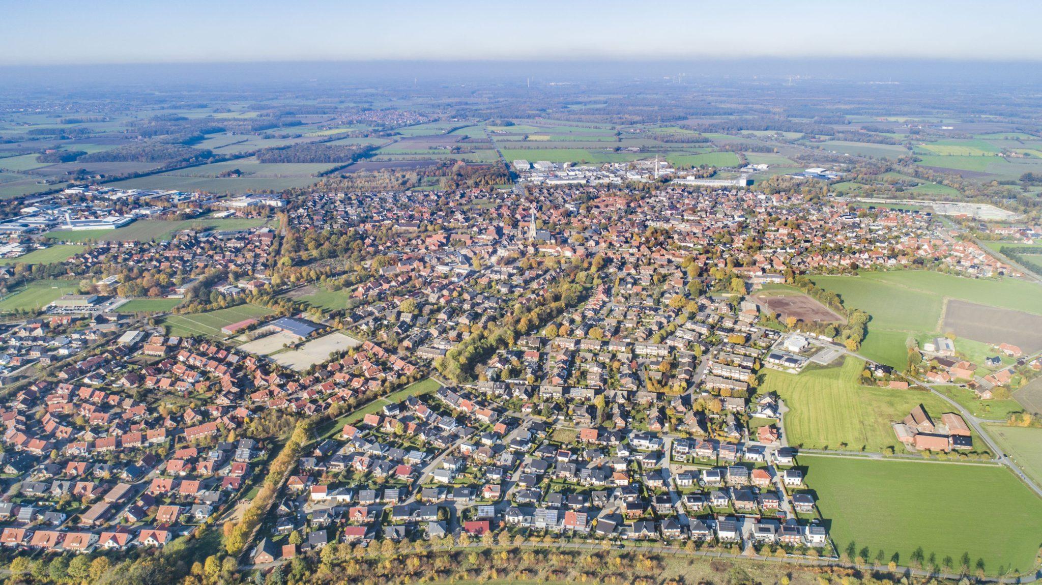 Luftbild Wohngebiet Ascheberg