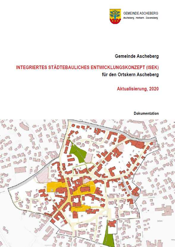 Titelbild Integriertes städtebauliches Entwicklungskonzept Ascheberg