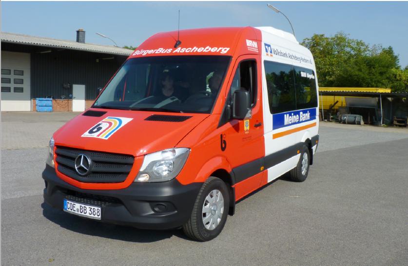 Bürgerbus Fahrzeug Ascheberg