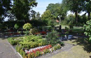Friedhof Ascheberg Einzelgräber