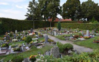 Friedhof Herbern - Urnengräber 1