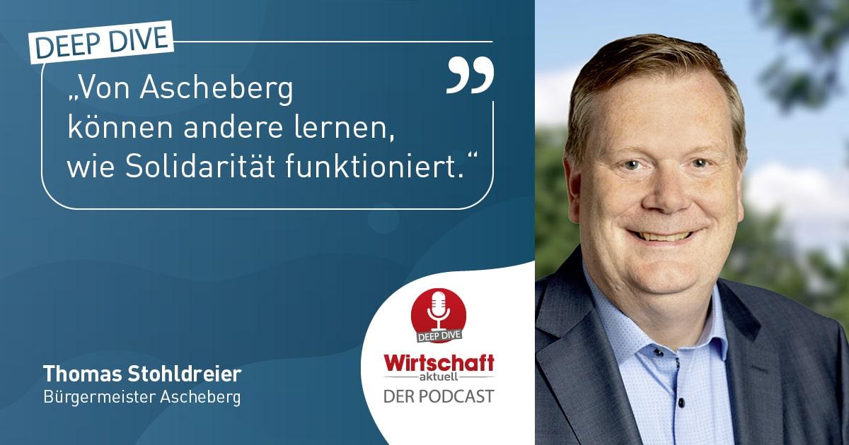 Wirtschaft aktuell Werbung Podcast Bürgermeister Stohldreier